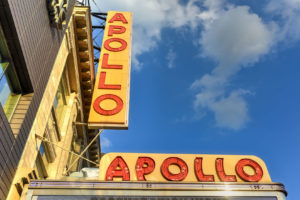 Apollo theater in Harlem,
