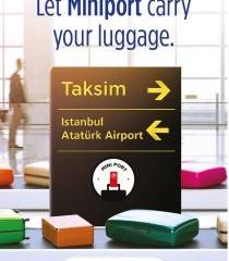 Turkish Airlines lancia MiniPort per il trasporto bagagli