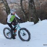 Fatbike elettrica sulla neve a Crans-Montana